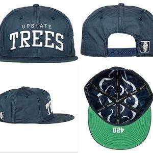 UPSTATE TREES SNAPBACK BLUE HATS